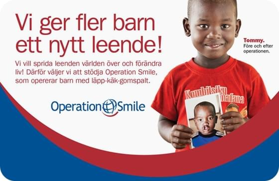 We give children a new smile